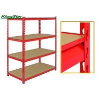 Buy cheap Multi Layer Bolt Free Shelving Systems , Industrial Storage Racks Heavy Duty from wholesalers