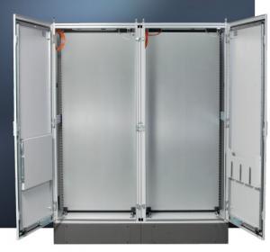 Buy cheap Communications Outdoor Enclosure Cabinet , Lockable External Electrical Enclosure product