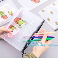Buy cheap slider bag resealable zipper bag for food/fish/meat, slider dried seafood zipper packaging bag, ziplock bag with handle from wholesalers
