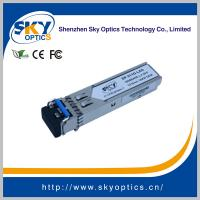 Buy cheap 1.25Gbps SFP Optical Transceiver Single Mode SFP LX module 1310nm 20km Reach from wholesalers
