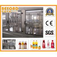 Buy cheap Fruit Filling Machine / Automatic Hot Juice Bottling Plant 500ml from wholesalers