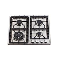 4  Burner / 6 Burner Gas Hob Built In Gas Cooktop with Stainless Steel Top Panel