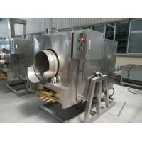 Buy cheap Sesame / Groundnut Roaster Machine 304 Stainless Steel Gas Or Electric Heating product