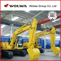 Buy cheap 0.35m3 bucket 75Kw shandong wolwa excavator used excavator with cummins engines for construction from wholesalers