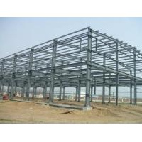 Buy cheap Q235 / Q345 Grade Simple Industrial Steel Structures , Prefab Factory Steel Buildings from wholesalers