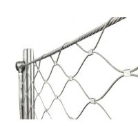 Buy cheap Architectural Flexible Cable Mesh SS Wire Rope Solid Structure For Stair Balustrade from wholesalers