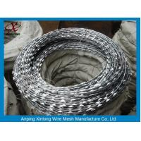 Buy cheap Multi Type Stainless Steel Razor Wire / Barbed Wire Roll For Grass Boundary from wholesalers