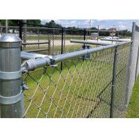 Buy cheap Green PVC Coated Garden Fence, pvc coated diamond wire mesh, Green PVC Coated Chain Link Fencing,Diamond Mesh Fence from wholesalers