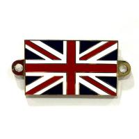 Buy cheap Custom Fashion National Flag Hard Enamel Lapel Pins Thickness 1.5mm - 1.8mm from wholesalers