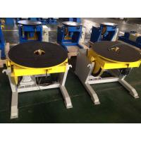 Buy cheap Storage Tank Rotary Welding Positioners With Gear And Rotary Support , 0° - 90° Tilt Angle from wholesalers
