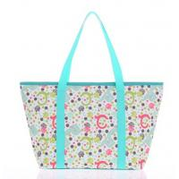 Buy cheap Custom Printed Tote Bags Reusable Polyester Handbag for Womens from wholesalers
