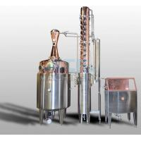 Buy cheap 600L Moonshine/Whiskey/Vodka Copper Distiller Spirit Distiller from wholesalers