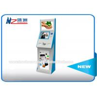 Buy cheap Self Service Ticket Vending Kiosk With Cash Acceptor And Thermal Printer from wholesalers