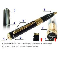 Buy cheap high qulity pen camera recorder with external TF card up to 16G from wholesalers