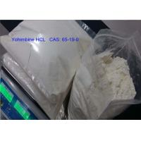 Buy cheap Yohimbine HCL Male Sex Steroid Hormones 99% Purity CAS 65-19-0 White Powder from wholesalers