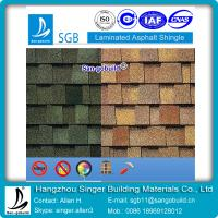 Buy cheap double layer laminated asphalt shingle for America market from wholesalers