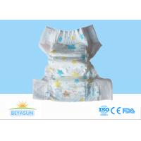 Buy cheap 3D Leak Guard Disposable Baby Nappy , Eco Friendly Disposable Diapers product