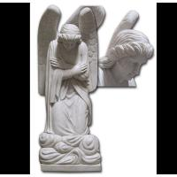 Buy cheap Decorative Western Garden Angel Stone Carving from wholesalers
