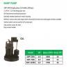 Buy cheap SUMP PUMP SDP-550S SDP-750S SDP-1100S from wholesalers