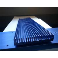 Buy cheap Anodizing 6061T6 Flat Wide Shape Aluminium Heat-Sink with CNC Precision Holes from wholesalers