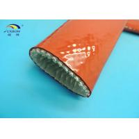 Buy cheap Heat Resistant Fireproof Sleeve for Steels Rust Red 1650℃ High Temperature from wholesalers
