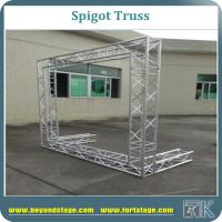 Buy cheap Aluminium Spigot Lighting Truss, Stage Truss, Roof Truss, Stage Backdrop Truss, Portable Truss, Heavy Duty Truss System from wholesalers