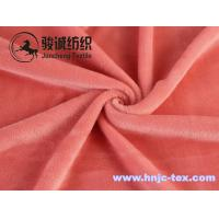 Buy cheap Warm woven mirco velvet/ poly spun velour for undergarment and apparel fabric from wholesalers