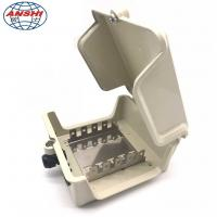 Buy cheap 50 Pairs Outdoor Copper Cable Distribution Box DP Internal Box With Key Lock from wholesalers