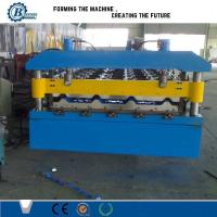 Buy cheap Efficiency Automatic Metal Roofing Tile Sheet Roll Forming Machine For Factory from wholesalers