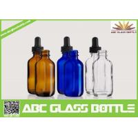Buy cheap 50ml Dropper Bottle,Boston Round Glass Dropper Bottles product