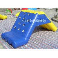 Buy cheap Custom Stable Inflatable Water Toys PVC Floating Slide For Water Park With Air Pump from wholesalers
