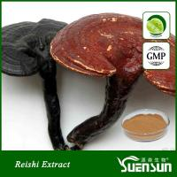 Buy cheap Organic ganoderma lucidum reshi mushroom powder best price 10%-50% Polysaccharides from wholesalers
