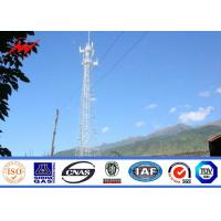 Buy cheap Steel Telecom Cellular Antenna Mono Pole Tower For Communication , ISO 9001 from wholesalers