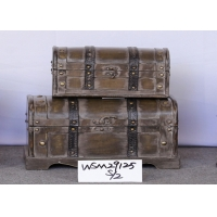 Buy cheap S26x14x13.5 Vintage Storage Chest For Decoration from wholesalers