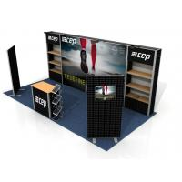 Buy cheap Custom Print Trade Show Booth Displays , Exhibition Portable Trade Show Booths from wholesalers
