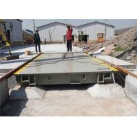 Buy cheap Digital Electronic Lorry Weighbridge 20kg High Accuracy Anti Wear Capacity from wholesalers