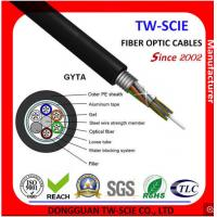 Buy cheap Outdoor PE Sheath Loose Tube Fiber Optic Cable G652D Aluminum Tape Armor Design from wholesalers
