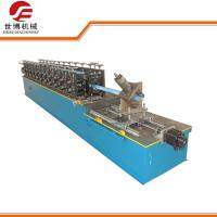 Buy cheap Light Steel Keel Cold Roll Forming Machine Omega Hat Furring Channel from wholesalers