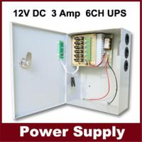12V, 3A, 6Ch,uninterrupted power supply