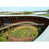 Buy cheap Construction Steel Frame Buildings Safety Modern For Apartment Building from wholesalers