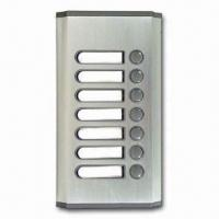 Buy cheap Weather-resistant Audio Door Phones with 7-call Buttons Outdoor Panel from wholesalers