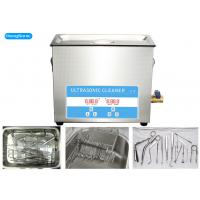 Buy cheap 10 Liter 200W Medical Ultrasonic Cleaner For Surgical Instrument Cleaning from wholesalers