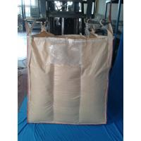 China Polypropylene 1 Ton Bulk Bags UV Protective With Beige / White / Black on sale