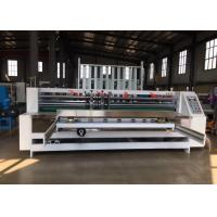 Buy cheap Professional Thin Blade Slitting And Creasing Machine Automatic Feeder from wholesalers