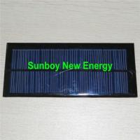 China 12V100mA Small Solar PV Panel (180*65mm) on sale