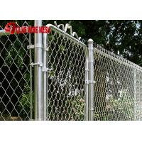 Buy cheap hot dipped galvanized chain link fence/galvanzied cyclone fence from wholesalers