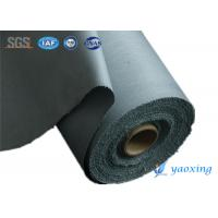 China Durable  PU Coated Fabric Polyurethane Polymer Coated Fiberglass Fabrics Resistance To Oils And Solvents on sale