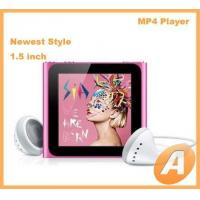 Buy cheap 1.5 inch Nano 6th Mp4 Player with Touch Screen from wholesalers