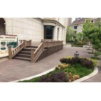 Buy cheap Non - Toxic Ecology WPC Fence Panels With Real Wood Touch / Wood Grain Finish from wholesalers