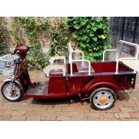 Buy cheap Battery Powered electric cargo tricycle / electric assist cargo bike or trike with Air filled motor from wholesalers